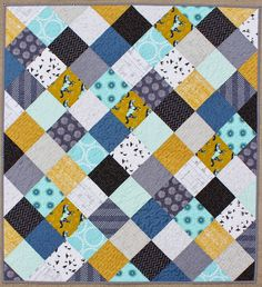Teaginny Designs: A Dress, a Baby, and Some Horses | sweet story, adorable quilt - love the back too
