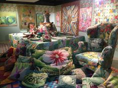 The Orangery-Kaffe Fassett 'A Life in Colour' - Fashion and Textile Museum, London