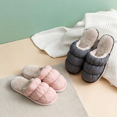 Plush non-slip slippers, offered in three great color options. Find more cute slippers at Apollo Box! Winter Slippers, Cute Slippers, Apollo Box, Pink Light, Comfy Shoes, Winter Day, More Cute, Cool Gifts, Plush