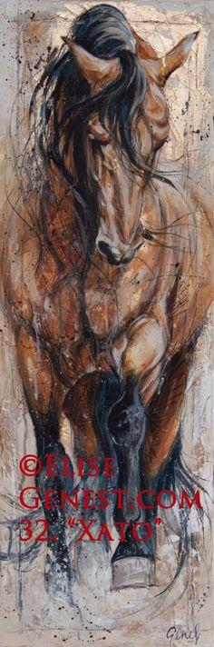 this woman creates breathtaking portraits of horses