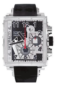 Jacob & Co. Epic I Limited Edition Automatic Chronograph Watch. List price: $16800