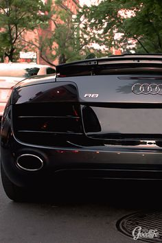 dream-villain: Audi R8 Ass Photo Taken By: Mr.Goodlife