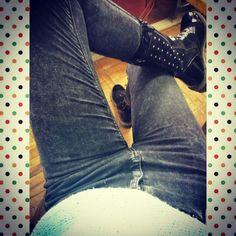 #black#boots#jeans