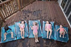 Colchón de agua para los niños