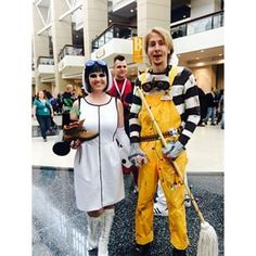 Humanized WallE and Eve Cosplay by stormx6 on DeviantArt ...
