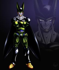 Coloured Perfect Cell by darkly-shaded-shadow.deviantart.com on @DeviantArt