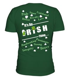 [B] Funny Irish Shirt - Irisches Hemd