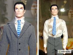 Ken Suit and Tie Tutorial and free pattern