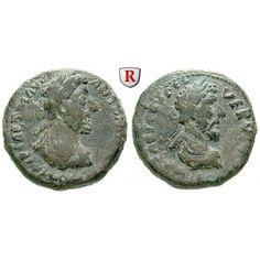 Römische Provinzialprägungen, Phönizien, Berytus, Marcus Aurelius, Bronze 161-169, ss: Phönizien, Berytus. Bronze 18 mm 161-169.… #coins