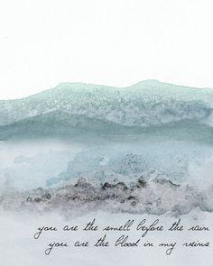 Brand New Lyric Print by AwakeYourSoul on Etsy