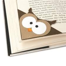 Resultado de imagen para owl bookmark