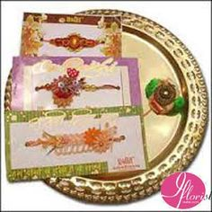 Fancy Rakhi & Thali