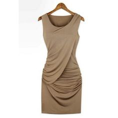 Stylish & Classic Nude Dress This dress can be worn in its classic design, with a belt, add some accessories and you've got a date night dress!   please remember, posh receives a nice portion of all sales ~ no low ball offers please, my prices are low and I have a bundle discount available. Reasonable offers are welcome and will be accommodated if possible ✔️ Some items are clearance, new inventory, or just final price  Dresses Midi