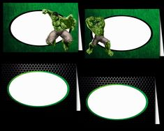 The Hulk Tented Cards Party Printable Tent Cards, Party Printables, Hulk, Incredible Hulk