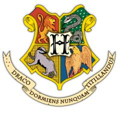 This is an awesome picture of the  logo of Hogwarts!!!