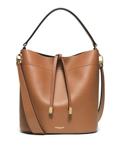 Miranda Medium Leather Shoulder Bag, Luggage by Michael Kors Collection at Neiman Marcus. Michael Kors Selma, Cabas Michael Kors, Michael Kors Purses Outlet, Michael Kors Shoulder Bag, Handbags Michael Kors, Hamilton, Mk Handbags, Designer Handbags, Leather Handbags
