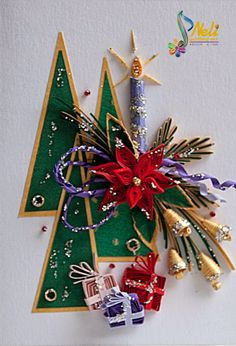 Neli Quilling Art: Preparation for Christmas _ # 1 / 2015 /
