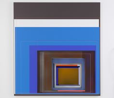 "Patrick Wilson, ""Insomniac"", 2010, acrylic on canvas, 72"" x 67"""