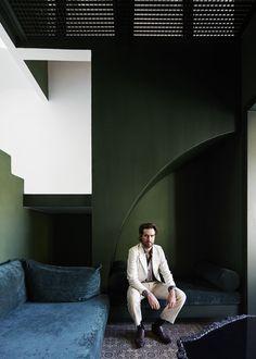 Simon Watson / Portfolio / Recent Editorial / Guillermo Santoma Icon Spain