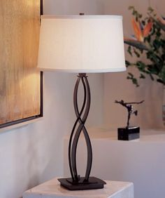 """Almost Infinity 18.3"""" H Table Lamp with Empire Shade"""