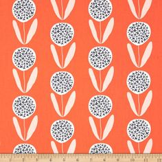 Art Gallery Curiosities Candied Lollies Orange from @fabricdotcom  Designed by Jeni Baker for Art Gallery, this cotton print fabric is perfect for quilting, apparel and home decor accents. Art Gallery Fabric features 200 thread count of finely woven cotton. Colors include orange coral, white and navy.