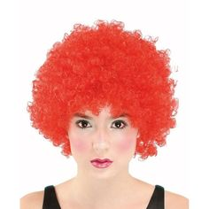 Super Curly Red Colour Afro / Clown Wig For Fancy Dress Parties / Halloween Wicked http://www.amazon.co.uk/dp/B005UE7JBY/ref=cm_sw_r_pi_dp_yKcsub14PWRS8