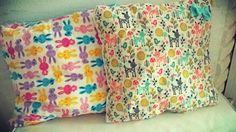 a takie poduszeczki popełniłam...