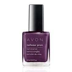 Create Nail Envy! 4 finishes to play with, Nailwear Pro+ Nail Enamel is your pretty little secret to this season's hottest nails. 12 days of lasting color. Increases nail strength by 80%. High-shine finish resists dings, bangs and nicks. No formaldehyde, toluene or phthalates. .4 fl. oz.