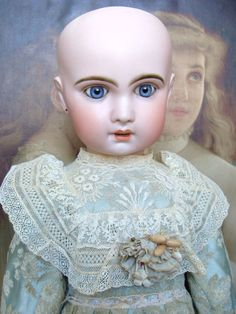 Wonderful antique Jumeau Bebe, mould 1907 from les-fees-du-temps on Ruby Lane