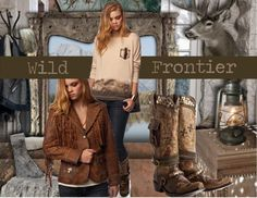 """""""Wild Frontier - Double D Ranch - Fall 2012"""" by doubledranch on Polyvore"""