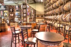 Adelbert's Brewery Taproom in Austin, TX - artwall, craft beer and games Photo by: Kevin Gourley