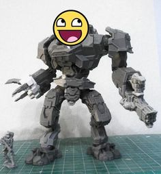 We run simple contest on our Facebook profile now, where you can win this GIANT ROBOT model. Please head here in order to participate: https://www.facebook.com/159776737387320/photos/a.192205597477767.49794.159776737387320/1024214510943534/?type=3&theater