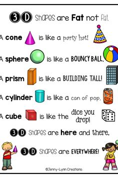 4 Worksheets for Kindergarten Shape Hunt This shape packet covers the basic shape concepts in many √ Worksheets for Kindergarten Shape Hunt . 4 Worksheets for Kindergarten Shape Hunt . Measurement and Data Kindergarten Math Unit Freebies in 3d Shapes Kindergarten, Teaching Shapes, Preschool Math, Kindergarten Worksheets, Math Classroom, Teaching Math, Math Activities, Math Math, Teaching Aids