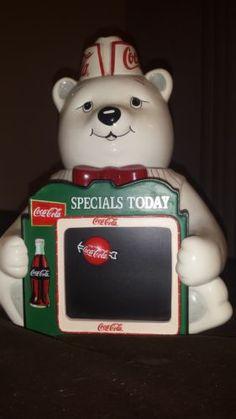 """Coca-Cola """"Special's Today"""" Cookie Jar"""