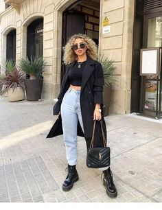 winter outfits street style 41 Winter Outfits With - winteroutfits Winter Outfits For Teen Girls, Winter Mode Outfits, Winter Fashion Outfits, Look Fashion, Trendy Outfits, Fall Outfits, Autumn Fashion, Summer Outfits, Cute Outfits