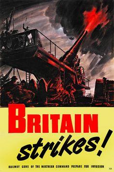WW2 ... railway guns! - UK