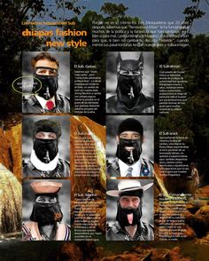 Chiapas new fashion style