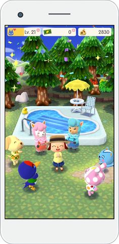Animal Crossing: Pocket Camp for mobile out next month - Polygonclockmenumore-arrownoyespoly-lt-wire-logo : Mark that one on your calendar