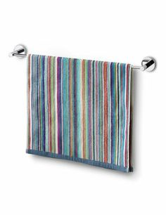 Narrow Striped Towels - Marks & Spencer