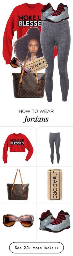 """Untitled #396"" by fashion2dance2beauty on Polyvore featuring T By Alexander Wang, NIKE and Louis Vuitton"