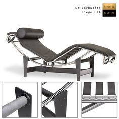 le corbusier liege lc4 fell bauhausm bel bauhaus furniture pinterest. Black Bedroom Furniture Sets. Home Design Ideas