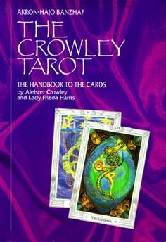 45 best birthday astrology graphology images on pinterest the crowley tarot the handbook to the cards by akron hajo banzhaf the best fandeluxe Images