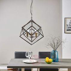 Extraordinaria lámpara suspendidaLorenza-9620906-30
