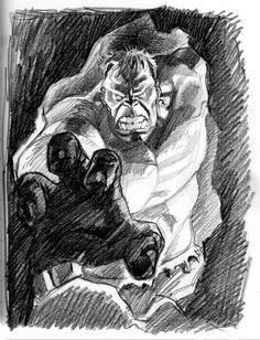 Hulk by Stephane Roux