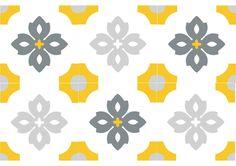 carreau ciment floral