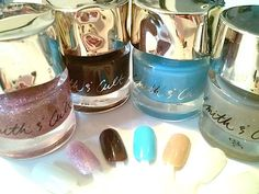 #GelNailPolish #SallyHansen #BStat  Smith And Cult Fall,Winter 2014 Nail Trend Review, Swatches: 9 Best Metallic, Gel, Polishes, Stickers - Sally Hansen, Revlon, Deborah Lippmann, New York Color, The Body Shop, Smith & Cult, Dermelect, Hello Kitty NCLA