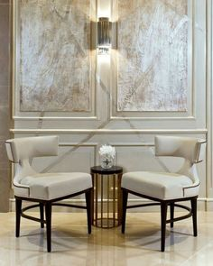 Inspiring and Sophisticated Chairs at Maison et Objet that will give you a lot of ideas for your next interior design project! Classic Interior, Home Interior, Interior Architecture, Interior Decorating, Modern Interior, Design Furniture, Chair Design, My Living Room, Modern Classic