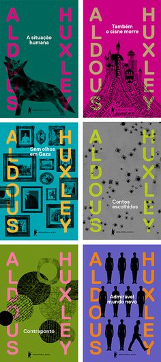 Aldous Huxley Collection (Brave New World/ Point Counter Point/ Collected Short Stories/ Those Barren Leaves/ Eyeless in Gaza/ After Many a Summer Dies the Swan)