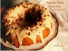 Pumpkin Maple Spice Cake- Everyone needs a good pumpkin spiced cake for this special season.  This one mixes in just one bowl and is so moist and sweet that I also make it as a quick muffin recipe without icing.  One of my favorite things about this cake though is that it makes such a fantastic base for my Maple Cream Icing!