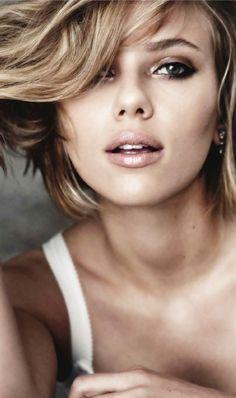 Scarlett Johansson ~ Makeup inspiration